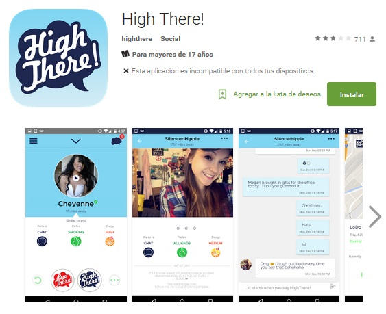 High five dating app