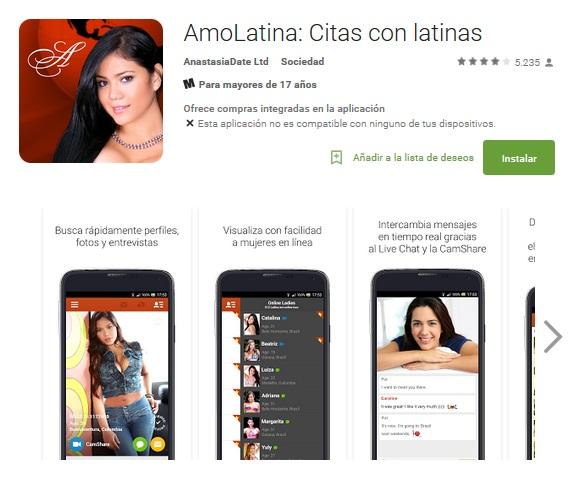 Amolatina app