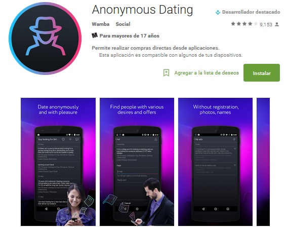 anonym dating top site