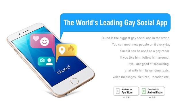 Blued social gay app