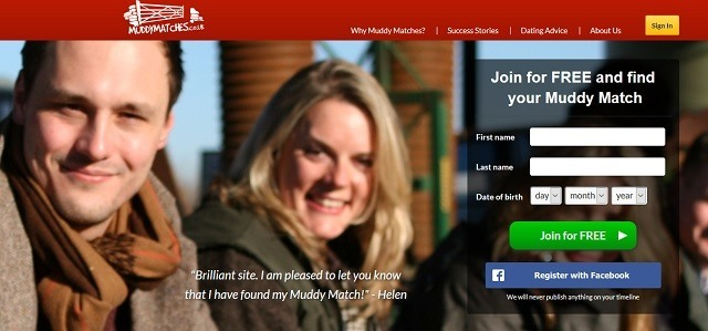 Dating website muddymatches