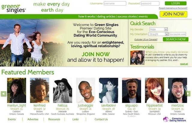 Green Singles Website de citas para veganos