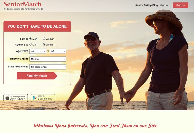 Senior Match App Dating 2016